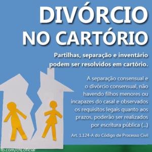 divórcio extrajudial