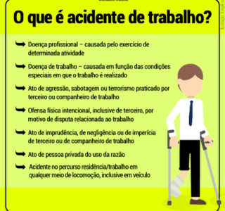 o que é acidente de trabalho