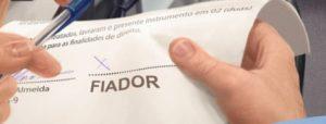 contrato de locação - fiador