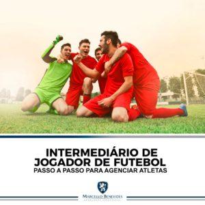 contrato de jogador de futebol com intermediário