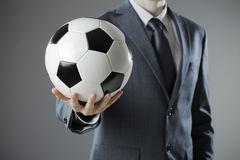 intermediário de jogador de futebol