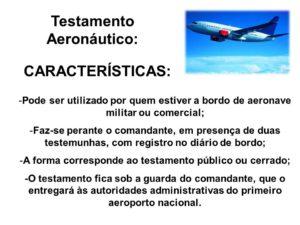 testamento aeronáutico
